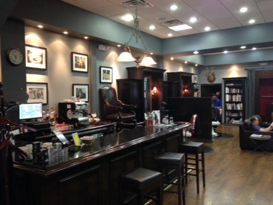 Churchill's Barber Shop: Shave and a Haircut, Two Bits