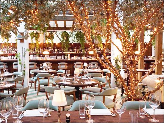 Italian Restaurant On South Beach